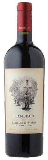 NEW! 2017 Flambeaux Dry Creek Valley Cabernet Sauvignon