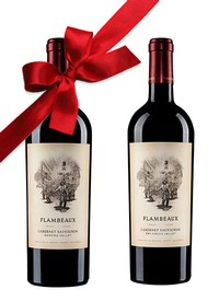 Double Gold Flambeaux Cabernet Sauvignon Gift Pack